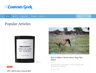 contentsgeek.com screenshot