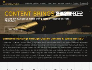 contentvise.com screenshot
