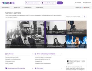 contenu.monster.ca screenshot