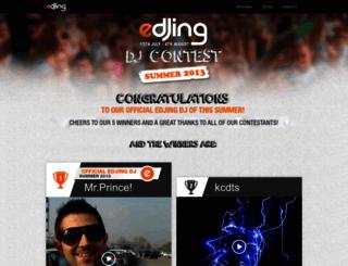 contest.edjing.com screenshot