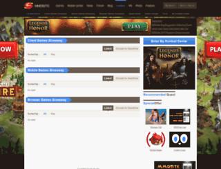contest.mmosite.com screenshot