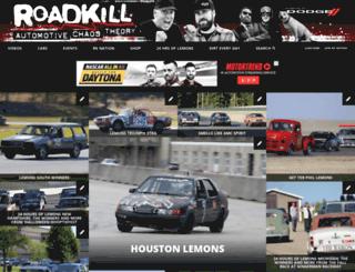 contest.roadkill.com screenshot