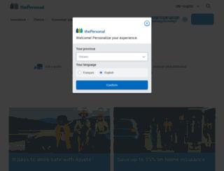 contest.thepersonal.com screenshot