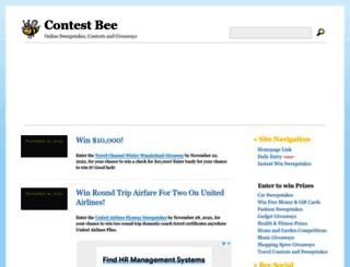 contestbee.com screenshot
