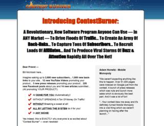 contestburner.com screenshot