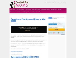 contestformoms.com screenshot