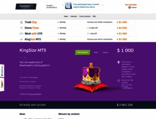 contestfx.com screenshot
