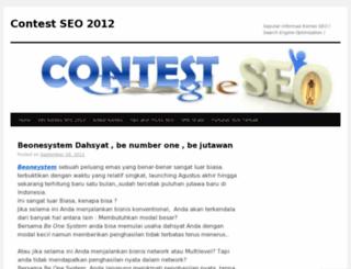 contestseo.wordpress.com screenshot