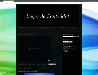 conteudoeaqui.blogspot.com screenshot