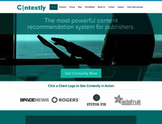 contextly.com screenshot