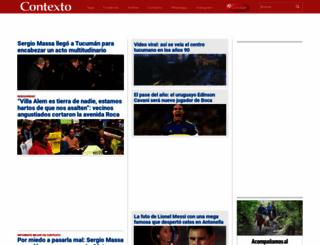 contextotucuman.com screenshot