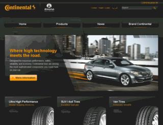 continental-ksa.com screenshot
