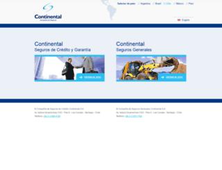 continental.cl screenshot