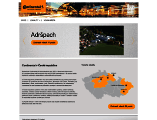 continental.jobs.cz screenshot