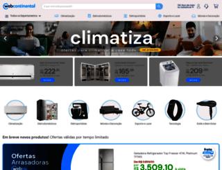 continentalcenter.com.br screenshot