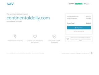 continentaldaily.com screenshot