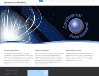 continentalentertainment.ca screenshot