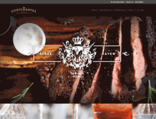 continentalnaples.com screenshot