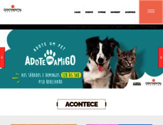 continentalshopping.com.br screenshot