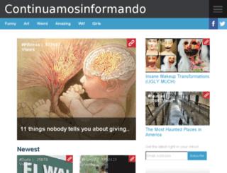 continuamosinformando.com screenshot