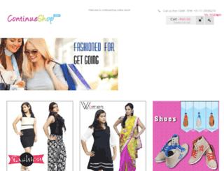 continueshop.com screenshot