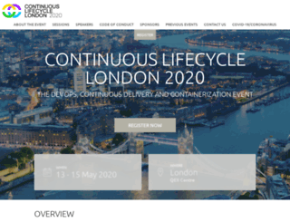continuouslifecycle.london screenshot