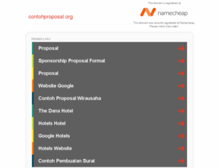 contohproposal.org screenshot