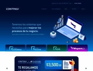 contpaqi.com screenshot