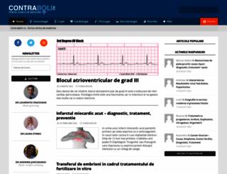contraboli.ro screenshot