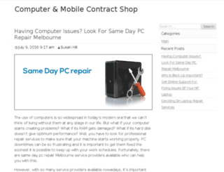 contractmobileshop.co.uk screenshot