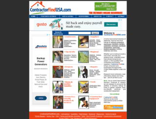 contractorfindusa.com screenshot