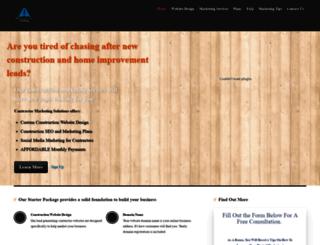 contractormarketing.solutions screenshot