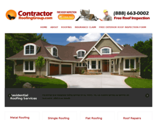 contractorroofinggroup.com screenshot