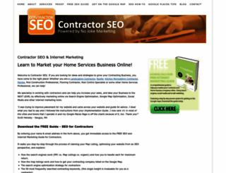 contractorseo.net screenshot