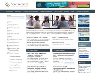 contractoruk.co.uk screenshot