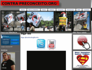 contrapreconceito.org screenshot