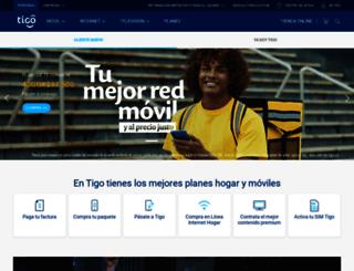 contratacionesune.une.com.co screenshot