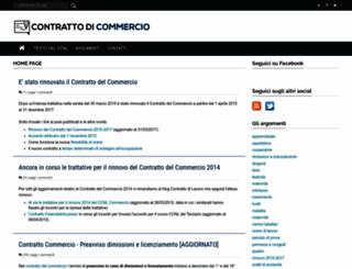 contrattocommercio.blogspot.it screenshot