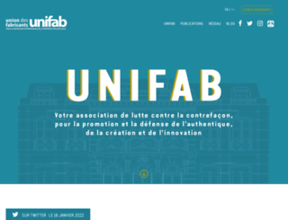 contrefacon.fr screenshot