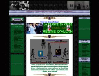 contrelislam.eu screenshot