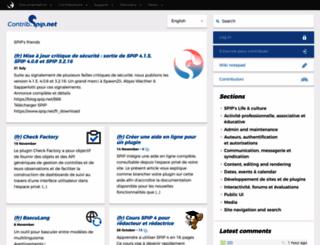 contrib.spip.net screenshot