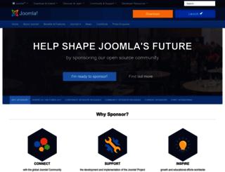 contribute.joomla.org screenshot