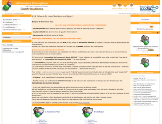 contributions.oscommerce-fr.info screenshot
