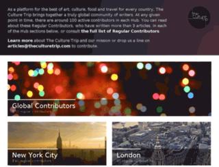 contributors.theculturetrip.com screenshot