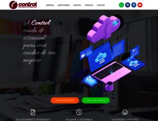 control.com.br screenshot