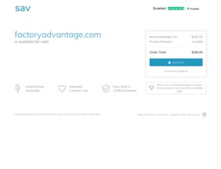 control.factoryadvantage.com screenshot