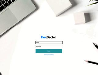 control.flexdealer.com screenshot