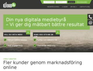 control.wordon.se screenshot