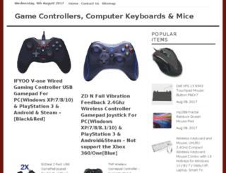 controllerskeyboardsmice.com screenshot