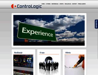 contrologic.pl screenshot